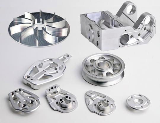 CNC Milled Parts
